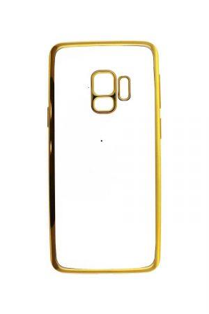 Platina Soft Case Gold Skal från Essentials till Galaxy S9