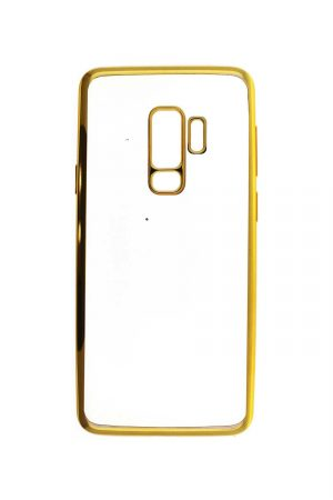 Platina Soft Case Gold Skal från Essentials till Galaxy S9 Plus