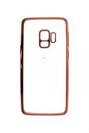Platina Soft Case Rose Gold Skal från Essentials till Galaxy S9