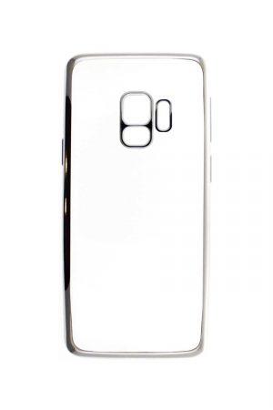 Platina Soft Case Silver Skal från Essentials till Galaxy S9