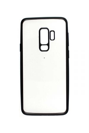 Platina Soft Case Black Skal från Essentials till Galaxy S9 Plus