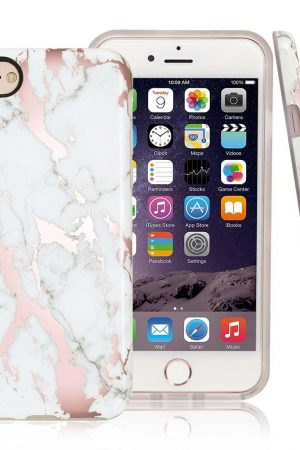 Sassy Pink Marble Soft Case till iPhone X 2.jpg
