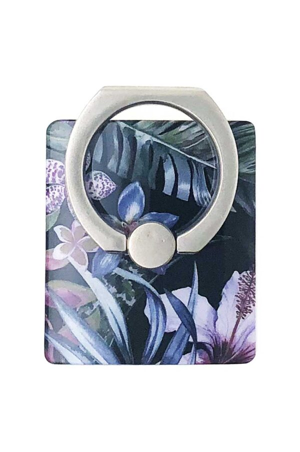 Ring Holder Jungle Leafs i Semi-mjuk plast
