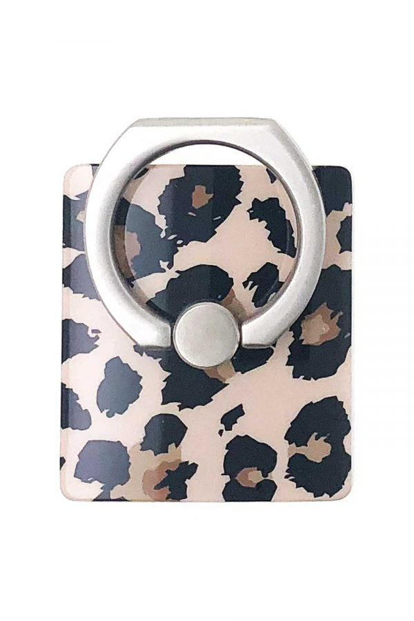 Ring Holder Leopard i Semi-mjuk plast