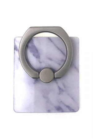 Ring Holder White Marble i Semi-mjuk plast