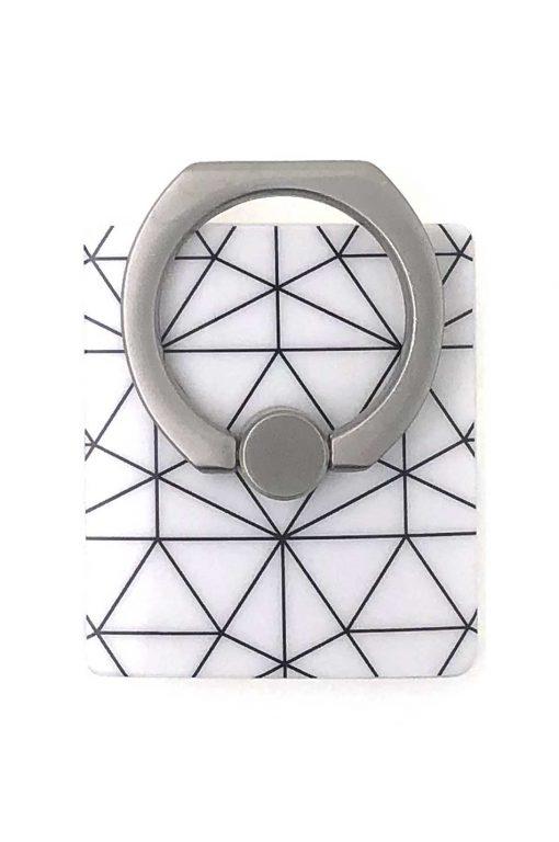 Ring White Ornament