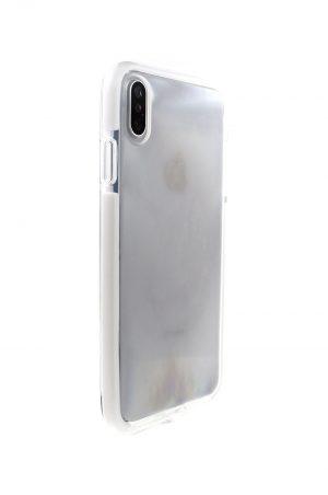 Mobello Ultra Rubber CTHRU White Skal från Mobello Ultra Rubber till iPhone XS Max