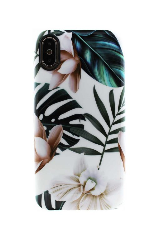 Sassy Jungle Bloom Soft Case till iPhone X : XS 3.jpg