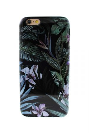 Sassy Jungle Leafs Soft Case till iPhone 6 : 6S 2.jpg