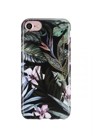 Mobello Soft Poly Jungle Leafs Soft Case Skal från Mobello Soft Poly till iPhone 8
