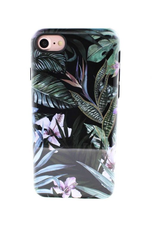 Sassy Jungle Leafs Soft Case till iPhone 7 : 8 2.jpg