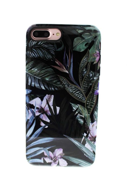 Sassy Jungle Leafs Soft Case till iPhone 7 : 8 Plus 2.jpg