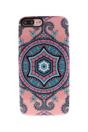 Sassy Pink Fractal Soft Case till iPhone 7 : 8 Plus 2.jpg