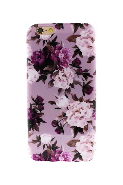 Sassy Pink Roses Soft Case till iPhone 6 : 6S 2.jpg
