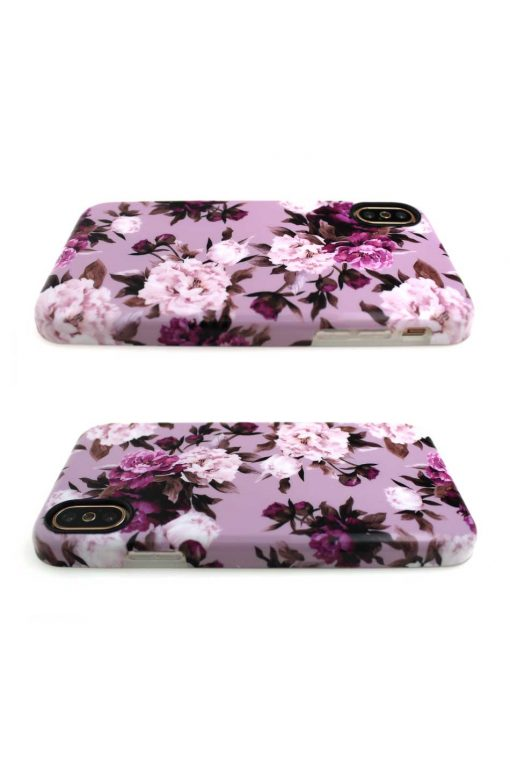 Sassy Pink Roses Soft Case till iPhone X : XS 2.jpg