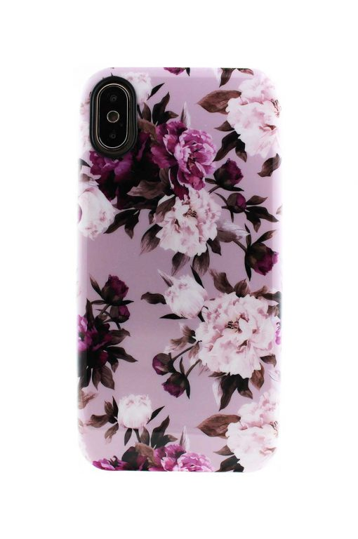 Sassy Pink Roses Soft Case till iPhone X : XS 3.jpg