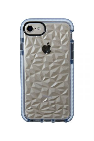 Mobello Ultra Rubber CTHRU Jelly Waves Vit Skal från Mobello Ultra Rubber till iPhone 8