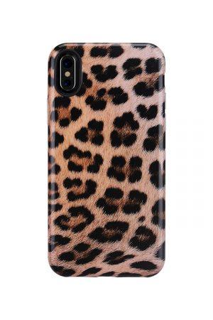 Mobello Soft Poly Leopard Soft Case Skal från Mobello Soft Poly till iPhone XS