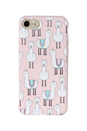 Popcase Pink Alpaca Soft Case