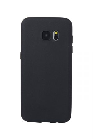 Styleful Soft Case Svart Skal från Essentials till Galaxy S7 Edge