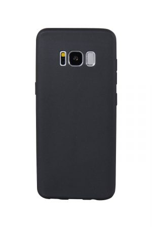 Styleful Soft Case Svart Skal från Essentials till Galaxy S8 Plus