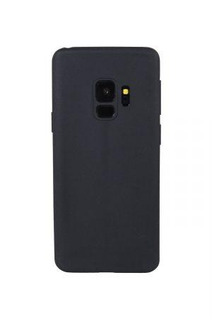 Styleful Soft Case Svart Skal från Essentials till Galaxy S9