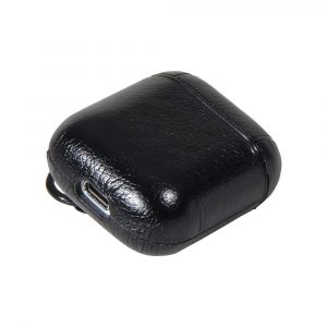 Airpods Case PU Leather Black