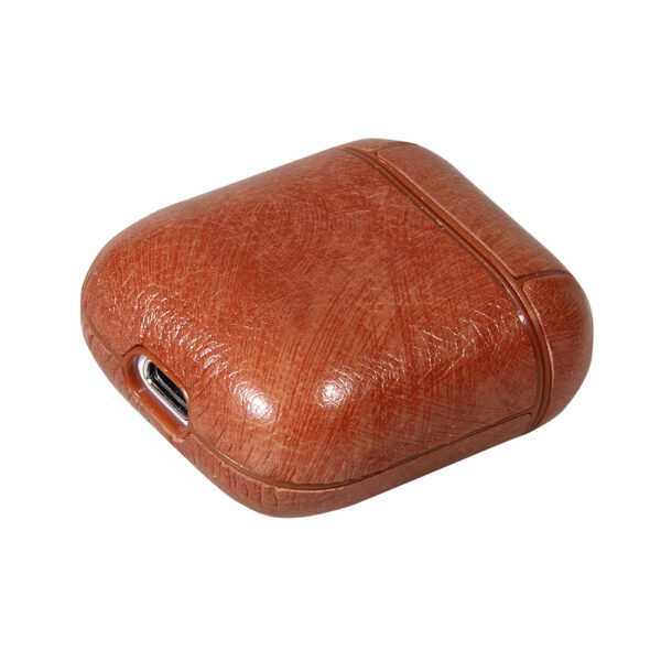 Airpods Case PU Leather Brown