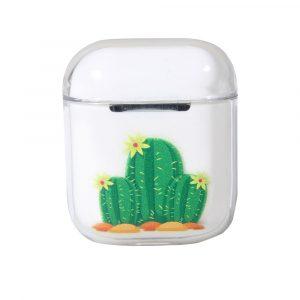 Airpods Transparent Cover Cactus