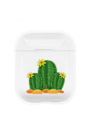 airpods Transparent fodral med kaktusar
