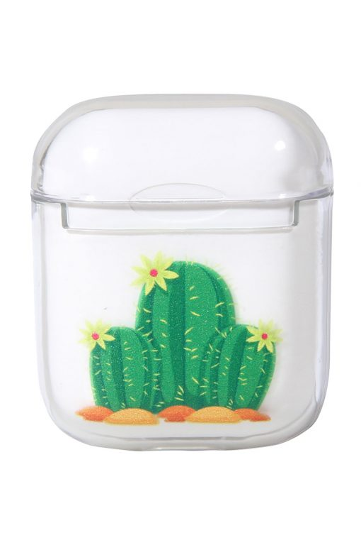 Airpods Transparent Cover Cactus