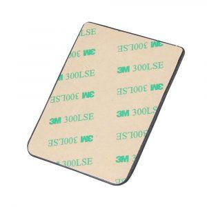 Credit Card Holder Adhesive Black Stones