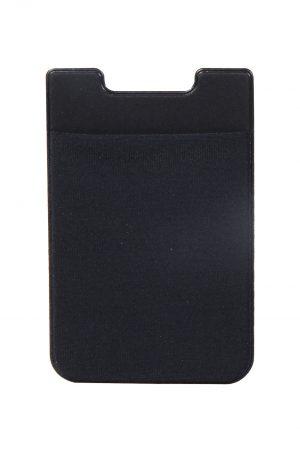 Credit Card Holder Adhesive Svart