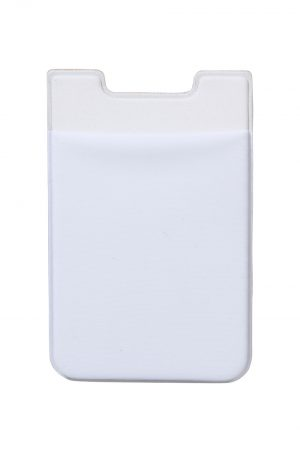 Credit Card Holder Adhesive White
