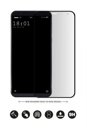 Glass Arc Protector Vit från Glasskydd till Galaxy S7 Edge