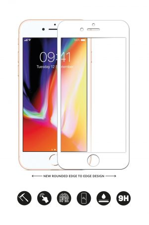 Glass Arc Protector Vit från Glasskydd till iPhone 6S Plus