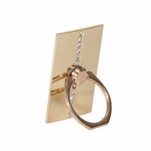 Ring Holder Diamond Gold