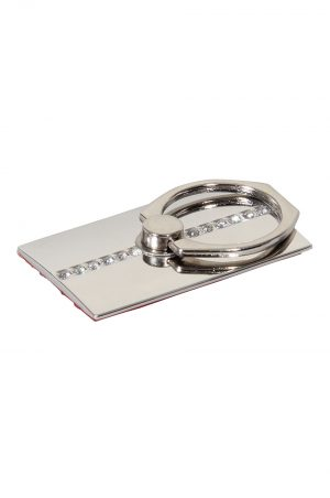 Ring Holder Diamond Silver
