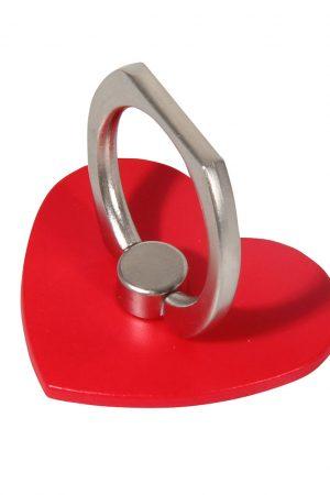 Ringhållare rött hjärta