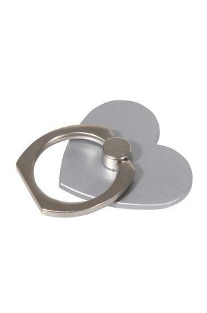 Ring Holder Silver Heart
