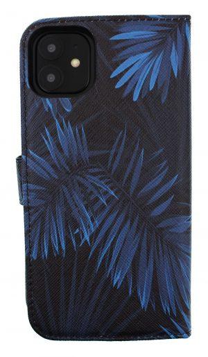 Mobello Saffiano Wallet Indigo Palm