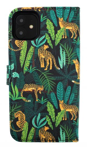 Mobello Saffiano Wallet Jungle Leopard