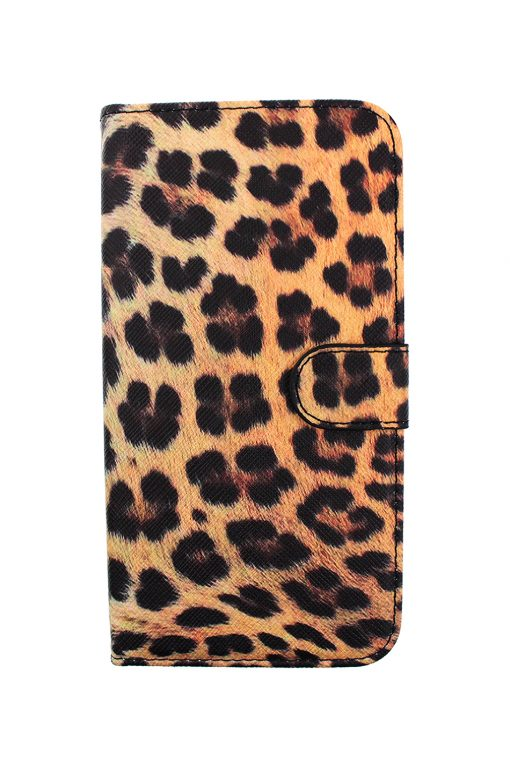 Mobello Saffiano Wallet Leopard