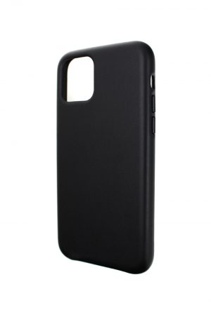 Mobello Leather Case Genuine Leather Black - iPhone 11 Pro