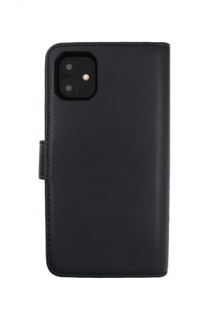 Mobello Leather Wallet Genuine Leather Black - iPhone 11
