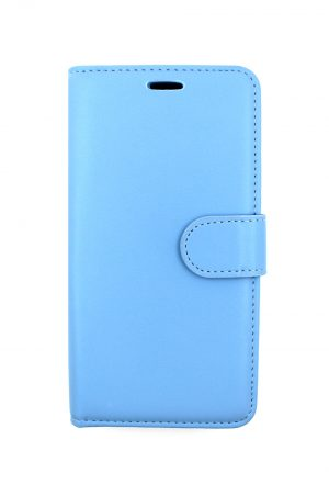 Mobello Leather Wallet Genuine Leather Blue - iPhone 11 Pro Max