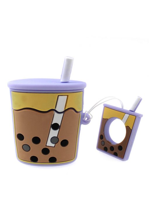 Airpods 1/2 Silicon Coffee Case