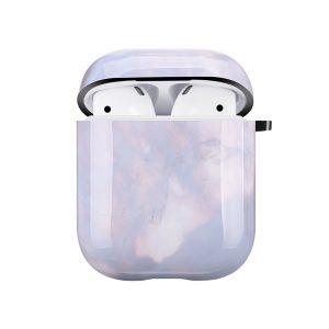 Mobello Soft Poly Airpods cover Crystal Stone i Semi-mjuk plast