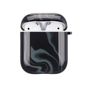 Mobello Soft Poly Airpods cover Elusive Black i Semi-mjuk plast