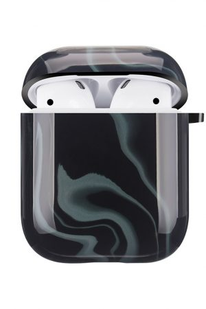 Mobello Soft Poly Airpods cover Elusive Black i Semi-mjuk plast